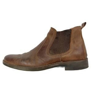 SPOKANE 1901 Chelsea Boot Brown Leather